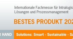 """inotec – Preisträger """"Bestes Produkt"""" / LogiMAT"""