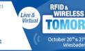 """AIM auf der """"RFID & Wireless IoT tomorrow"""" / 20.-21.10.2021 / Wiesbaden"""