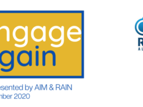 engage again: AIM & RAIN – Digital Conference and Exhibition: 05.-06.05.2021